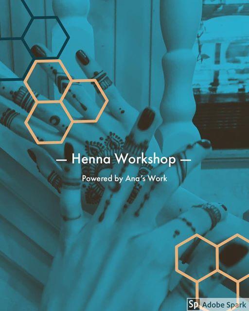 The Henna workshop- Brasov 2019