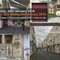 PSPJ 2nd Outing for January 2018 Laman Seni 7 Shah Alam