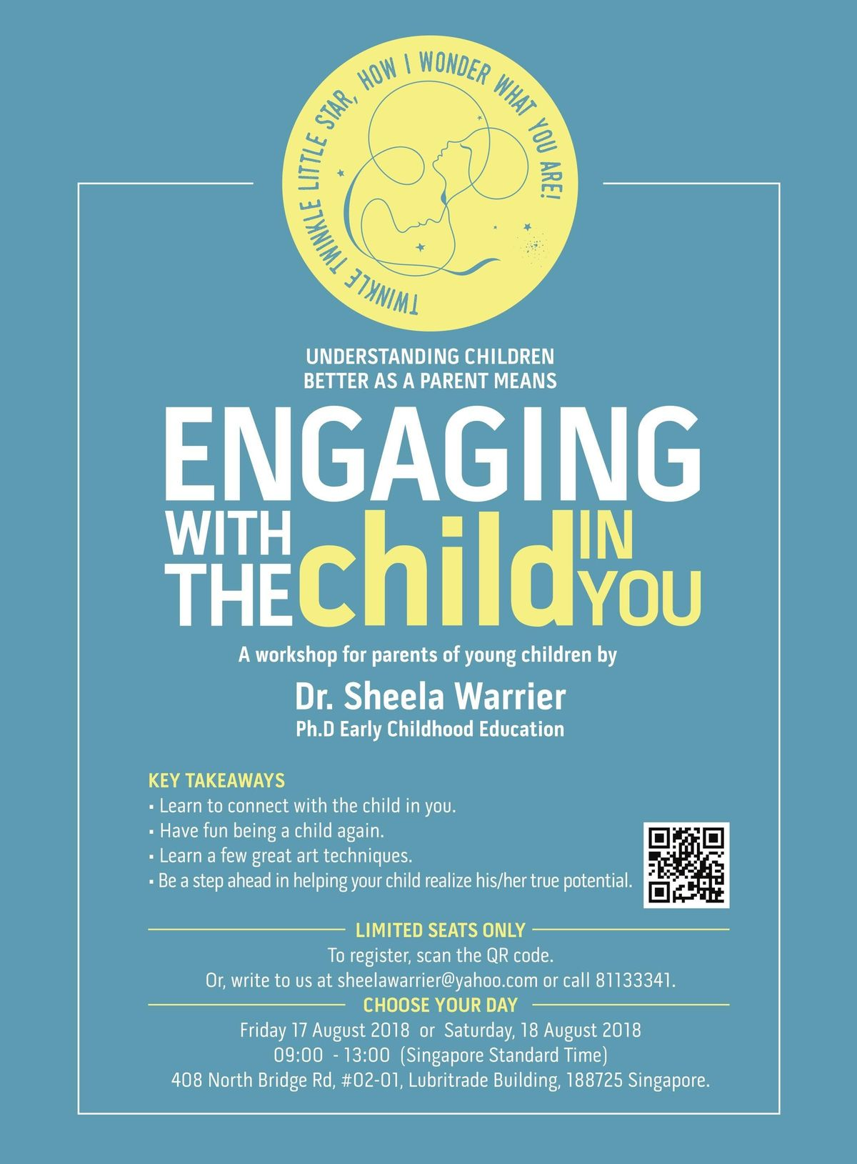 Engaging with the child in you A workshop for parents of young children