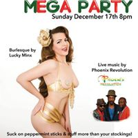 8pm MEGA Party with Lucky Minx &amp Live Music