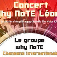 Concert Why NoTe Lonie