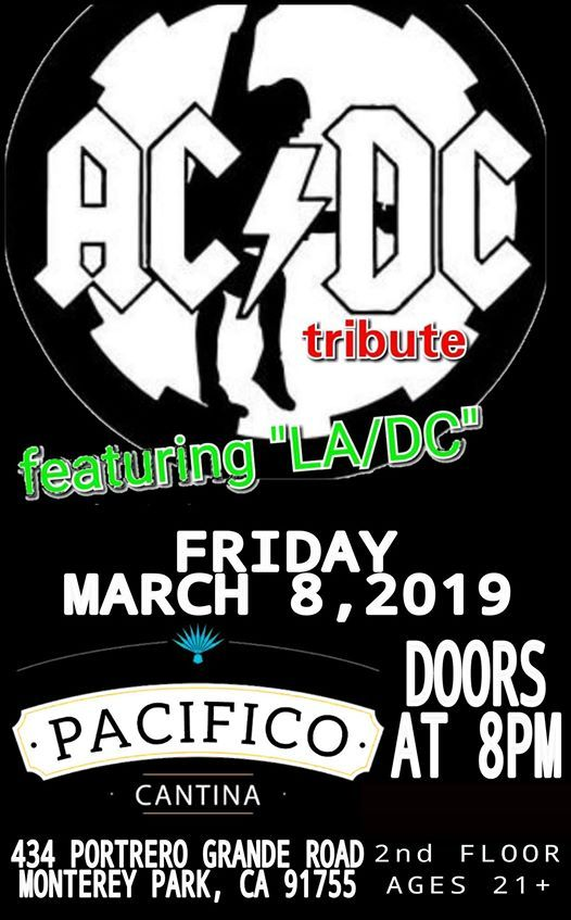 ACDC tribute ChicaliPacifico Lounge