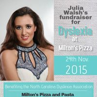 Julia Walshs Fundraiser for Dyslexia