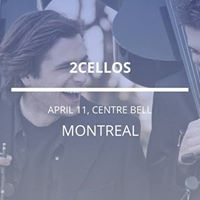 2cellos in Montreal