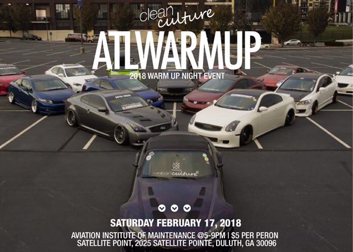 Cleanculture Atlwarmup Night Meet At Aviation Institute Of