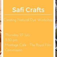 Creating Natural Dye Workshop