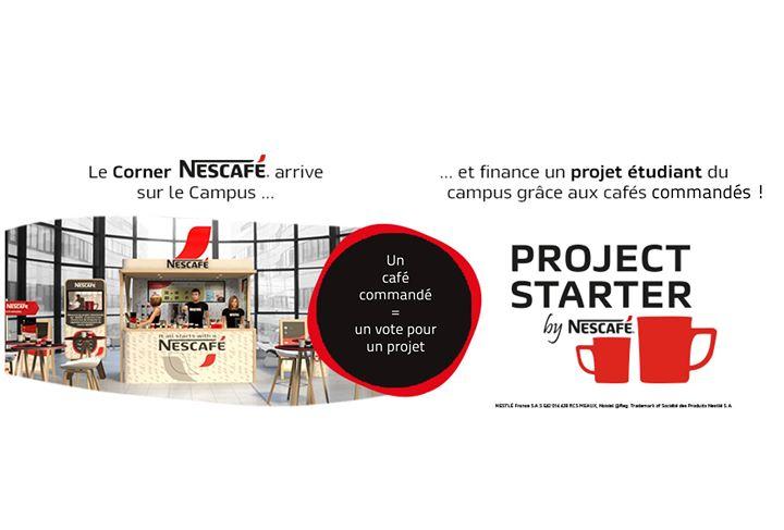 Finance ton projet tudiant avec Nescaf