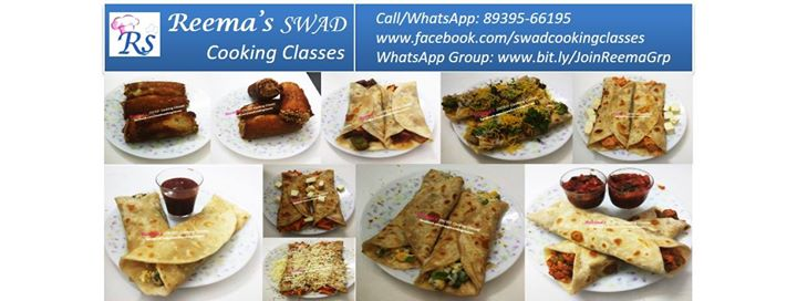 Wraps & Rolls Cooking Workshop