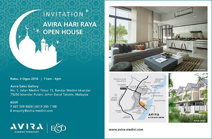 Avira hari raya open house at avira by eo johor bahru advertisement stopboris Images