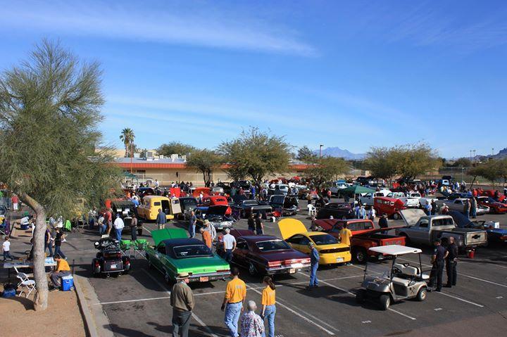Car Show At Apache Junction High School Apache Junction - Apache junction car show