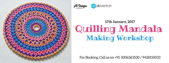 Quilling Mandala Making Workshop