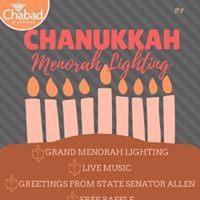 Chanukkah Menorah Lighting