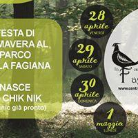 Festa di Primavera al Parco della Fagiana