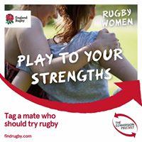 RAF invitational girls rugby festival