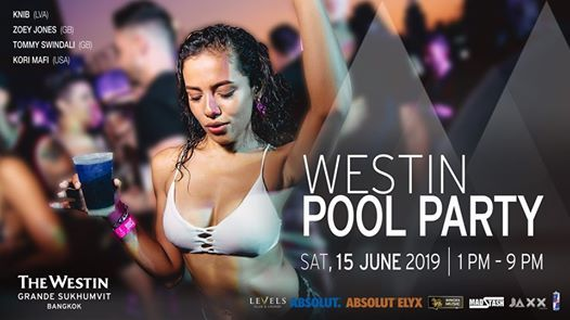 Westin Pool Party - June Edition