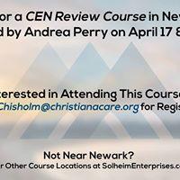 CEN Review Course - Newark Delaware