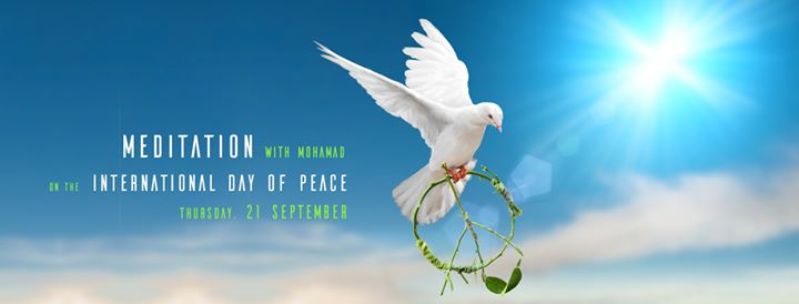 International Day of Peace Meditation-With Mohammad