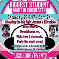 CraZee Silent Disco  Joshua V Klitschko fight