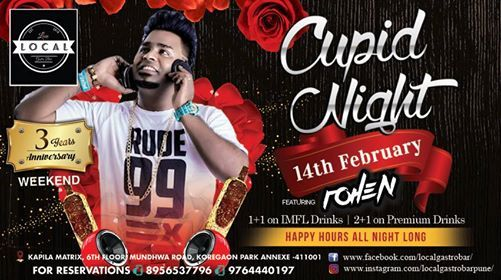 CUPID NIGHT - DJ Rohen