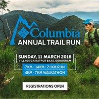 Columbia Annual Trail Run 2018