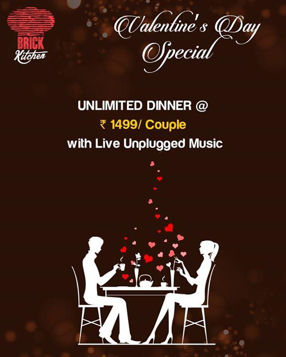 Valentine Day Unlimited Dinner