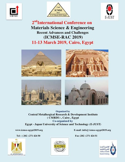 2nd International Conference on Materials Science and Eng.