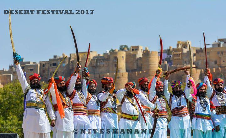 Jaisalmer Desert Festival 2018