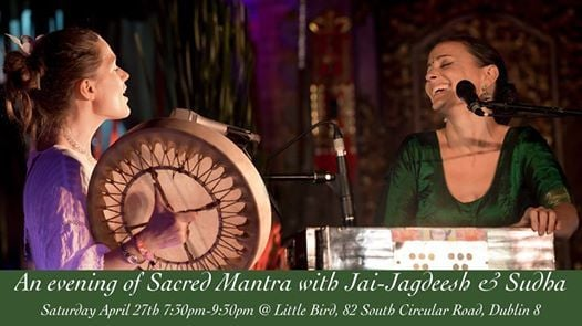 SOLD OUT An evening of Sacred Chant with Jai-Jagdeesh & Sudha