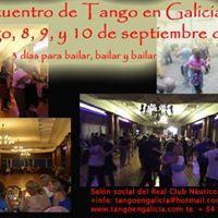 9no. Encuentro de Tango en Galicia