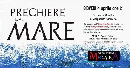 Preghiere dal mare - Orchestra Mosaika & Margherita Sciarretta