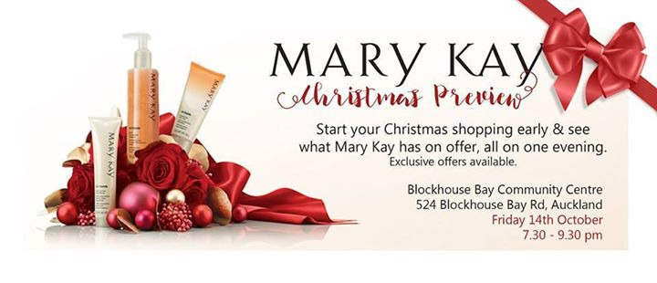 Mary Kay Christmas Images.Mary Kay Christmas Preview At Blockhouse Bay Community