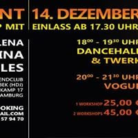 Workshop with DHQ Fraules Dancehall and Vogue