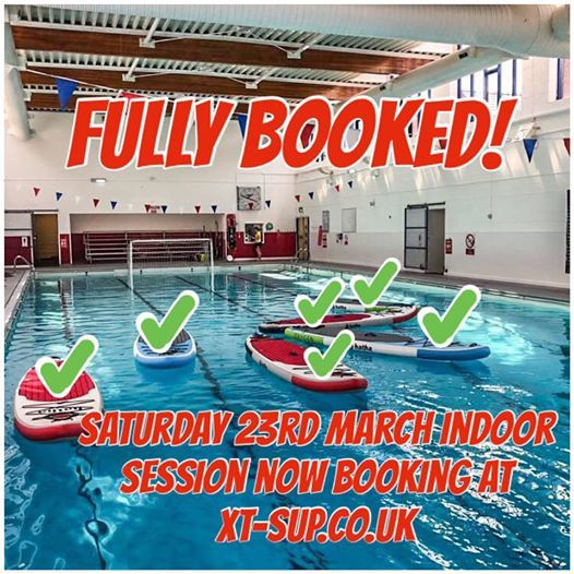 FULLY BOOKED Indoor SUP session