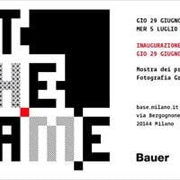 Out The Frame_Mostra dei progetti Bauer 1617
