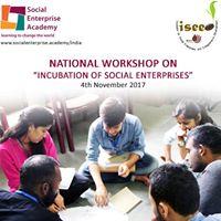 Incubation of Social enterprises