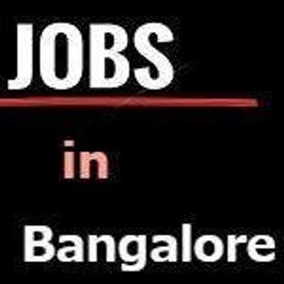 Bangalore Jobs - Fresher's and Experience