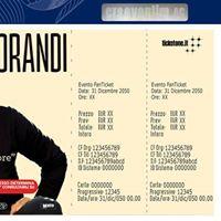 Concerto Gianni Morandi ad Acireale