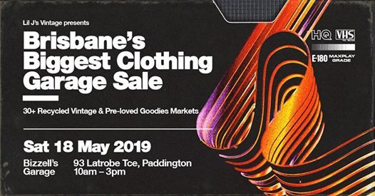 Brisbanes Biggest Clothing Garage Sale