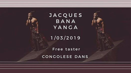 Free taster Congolese dans met Jacques Bana Yanga