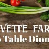 Olivette Farm To Table Dinner