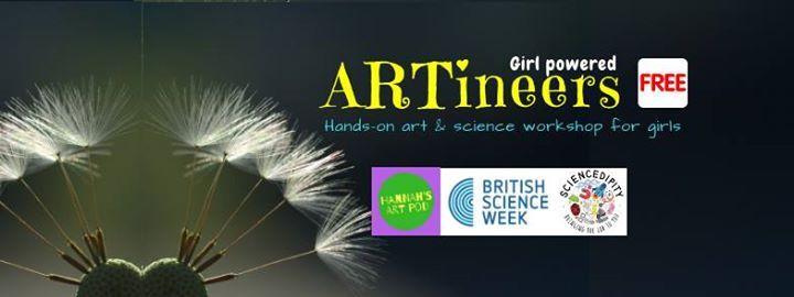 ARTineers - Art & Science workshop for girls aged 9-15