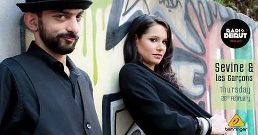 Sevine & Les Garons [Live] at Radio Beirut