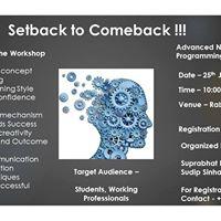 Advanced Neuro Linguistic Programming (NLP) Workshop