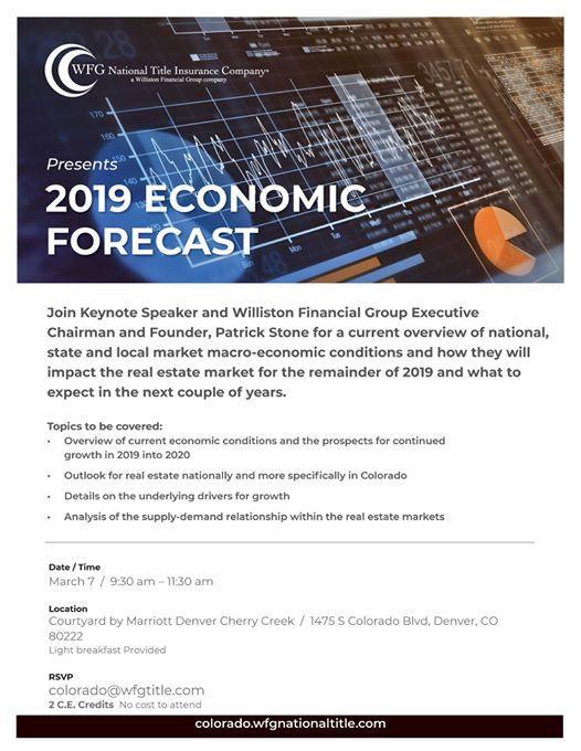 2019 Economic Forecast at 1475 S Colorado Blvd, Denver, CO