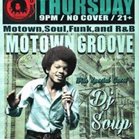 Motown Groove at Goosetown Tavern with Guest Dj Soup