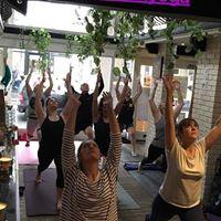 Yoga Brunch at Loves Cafe