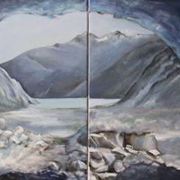 Acqua ghiaccio pietre opere nuove di Zsuzsa Jancs-Miskolczi