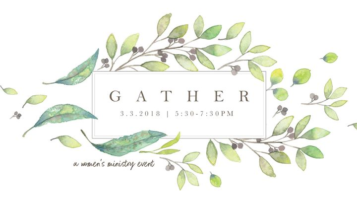 Gather A Dinner Event for the Women of Ogletown