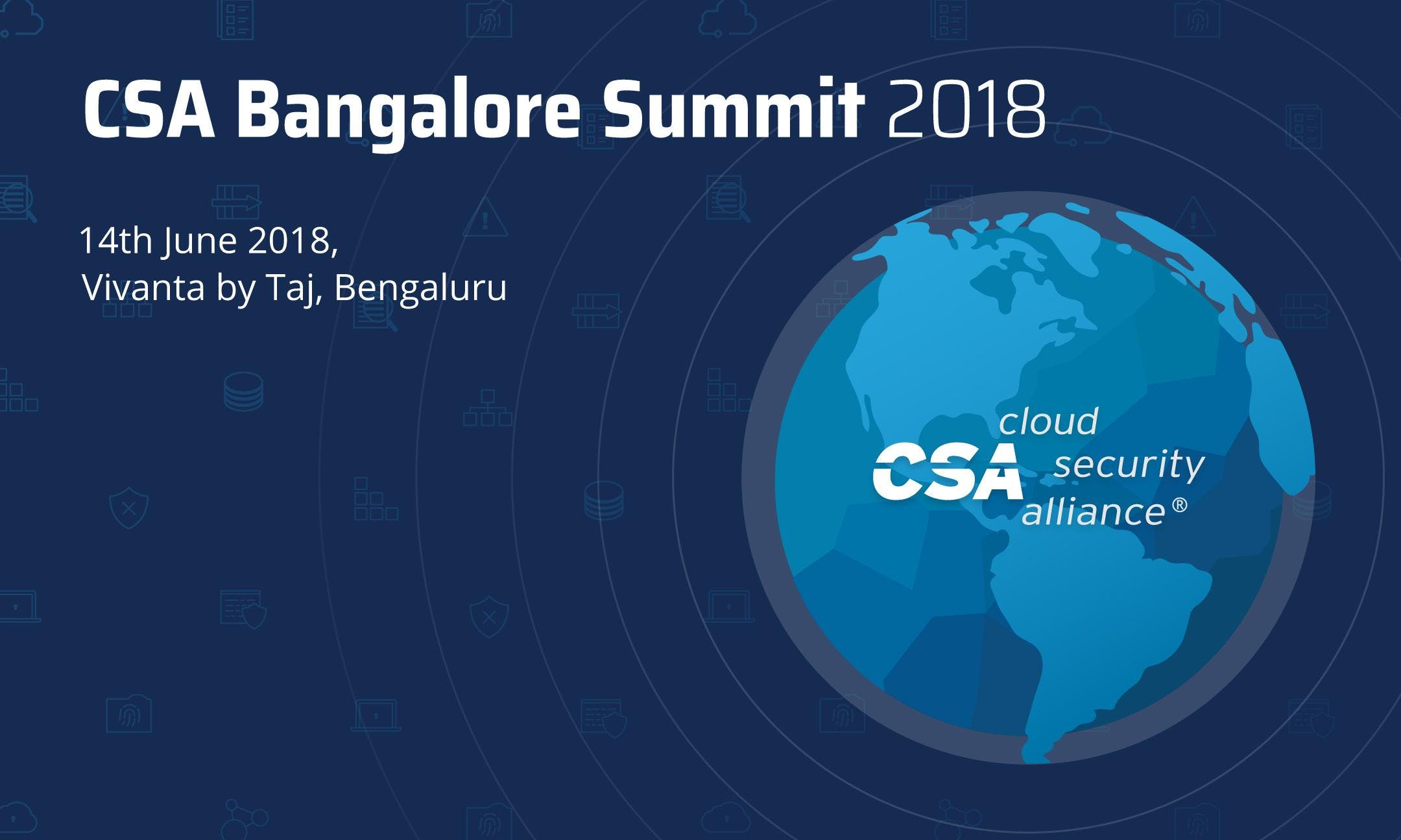 CSA Bangalore Summit