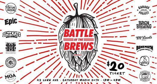 Battle of the Brews - Beer Tasting